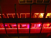 Red-light district in Amsterdam