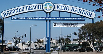 Redondo Beach, California - Image: Redondo Beach King Harbor Sign