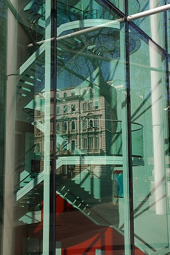 Reflections in Imperial College London - geograph.org.uk - 396627