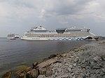 Regal Princess departing Tallinn 31 July 2018.jpg