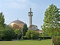 Regent's Park with Mosque in background - geograph.org.uk - 1502319.jpg