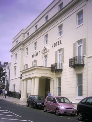 Regent Hotel - The hotel shortly after redevelopment in the 21st century