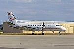 Regional Express (VH-ZPC) Saab 340, in former PenAir livery, at Wagga Wagga Airport (2).jpg