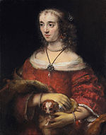 Rembrandt Harmensz van Rijn - Portrait of a Lady with a Lap Dog - Google Art Project.jpg