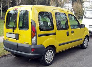 Renault Kangoo - Pre-facelift Renault Kangoo