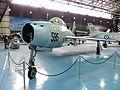 Republic F-84F Thunderstreak turbojet fighter-bomber - Αεριωθούμενο μαχητικό αεροσκάφος δίωξης-βομβαρδισμού (26999573676).jpg