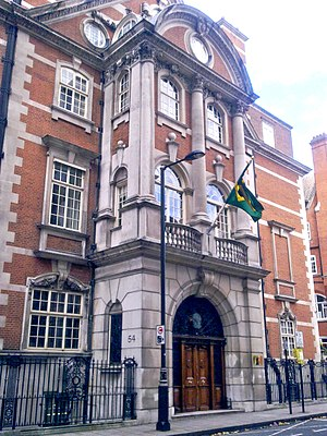 Embassy of Brazil, London - Image: Residence of Brazilian ambassador, London