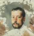 Retrato (inacabado) de José Malhoa (1882) - António Ramalho (Museu de José Malhoa, Caldas da Rainha).png