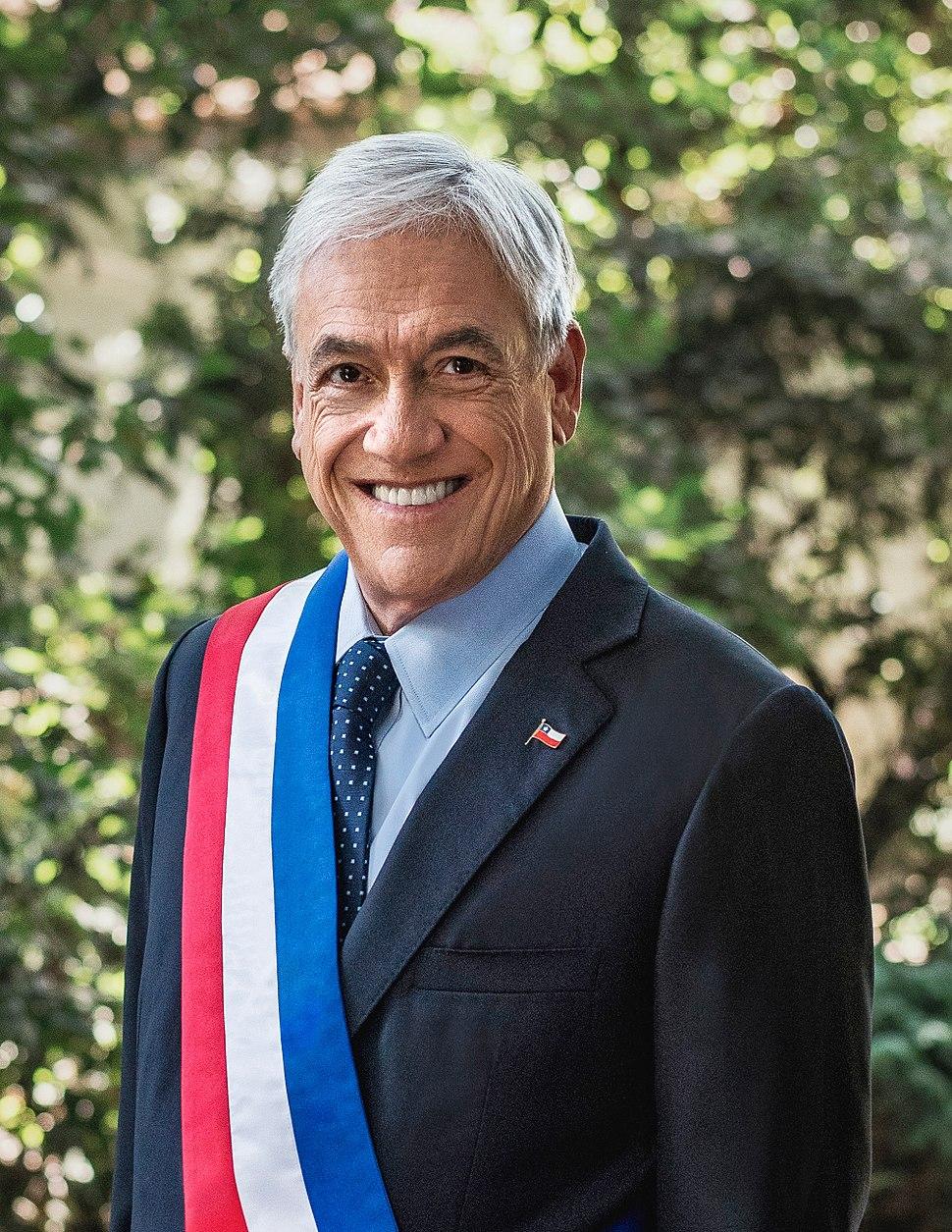 Retrato Oficial Presidente Piñera 2018