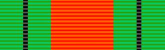Yvonne Cormeau - Image: Ribbon Defence Medal