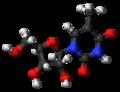 Ribothymidine 3D ball.png