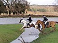 Riders on Mogshade Hill, New Forest - geograph.org.uk - 316722.jpg