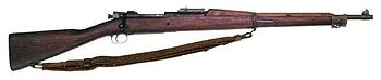 A M1903  Springfield rifle