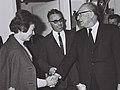 Rina Eitani - Mordechai Alon - Levi Eshkol 1966-12-07.jpg
