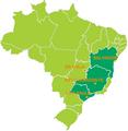Rio de Janeiro bid map for the 2016 Summer Olympics - football preliminaries.PNG