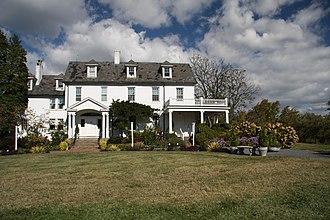 River Farm - River Farm house in 2010