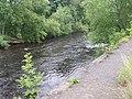 River Wharfe - Leeds Road, Ben Rhydding - geograph.org.uk - 911355.jpg