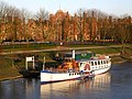 Riverboat at Hampton Court Palace - geograph.org.uk - 587478.jpg
