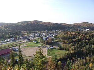 Rivière-à-Pierre, Quebec - Image: Rivière à Pierre