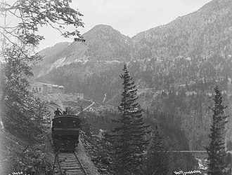 Rjukan Line - The Rjukan Line on May 26, 1911, before electrification