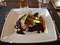 Roast duck at restaurant Kylä.jpg