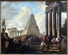 Alexandre le Grand devant le tombeau d'Achille, vers 1754, Musée du Louvre