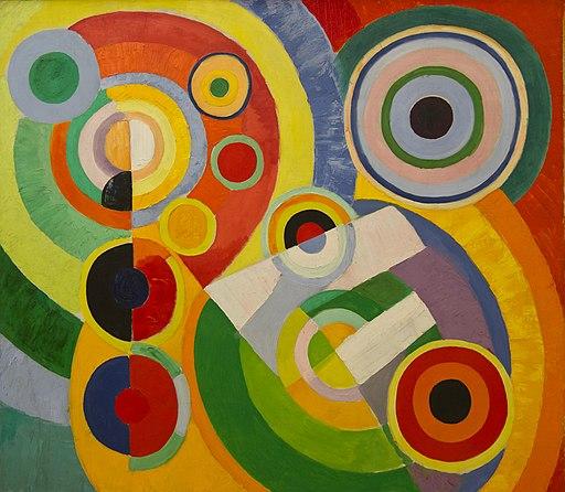 Robert Delaunay - Rythme, Joie de vivre