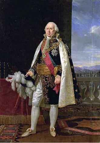 Charles-François Lebrun, duc de Plaisance - Portrait of Charles-François Lebrun, duc de Plaisance, by Robert Lefèvre, 1825