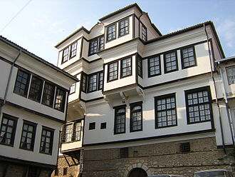 Macedonians (ethnic group) - Architecture in Ohrid.