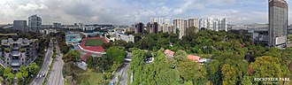 One-north - Aerial perspective of Rochester Park Singapore