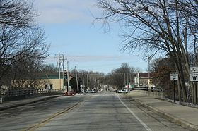 Rochester Wisconsin Downtown Looking West.jpg