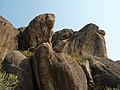 Rock formations at Bodhikonda 7.JPG