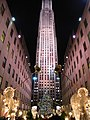 Rockefeller Center 2011 Christmas decoration Manhattan NYC.jpg