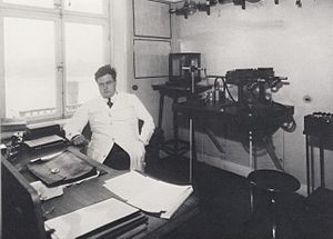 Rolf Maximilian Sievert - Rolf Sievert in 1924