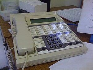 ROLM - A RolmPhone 400.