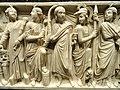 Roman sarcophagus (detail), Rome, 240-260 CE - Nelson-Atkins Museum of Art - DSC08220.JPG