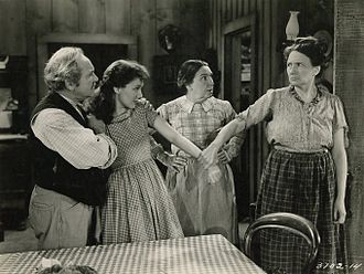 Jean Parker - George Cleveland, Jean Parker, Sarah Padden, and Marjorie Main in Romance of the Limberlost (1938)