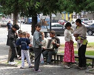 Romani people in Ukraine - Romani people in Lviv