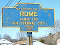 Rome PA Keystone sign.jpg
