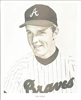 Ron Reed American baseball player