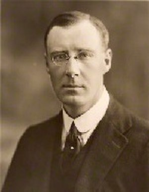 Ronald Barnes, 3rd Baron Gorell - Lord Gorell in 1920