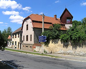 Ronov nad Doubravou - Image: Ronov nad Doubravou, Bílek's villa 2