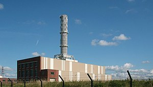 Roose - Image: Rooscote Power Station, Barrow in Furness