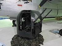 A Rose Gun Turret on display at RAF Museum London (this photo appeared on the front page of Wikipedia)