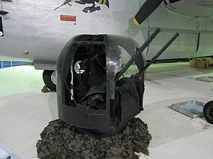 Rose turret - A Rose turret on display at RAF Museum London