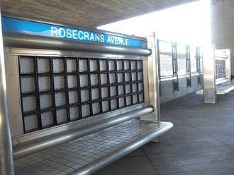 Rosecrans Avenue - Rosecrans Silver Line Station