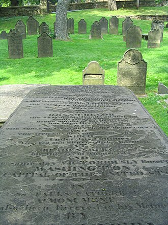 Old Burying Ground (Halifax, Nova Scotia) - Image: Ross tomb 9