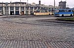 Rostock Hauptbahnhof - Gotha tram and Ikarus Bus Jan1990 - Flickr - sludgegulper.jpg