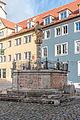 Rothenburg ob der Tauber, Kapellenplatz, Brunnen-20160108-004.jpg