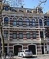 foto van Dubbel bedrijfspand annex woonhuis in Neo-Renaissancestijl